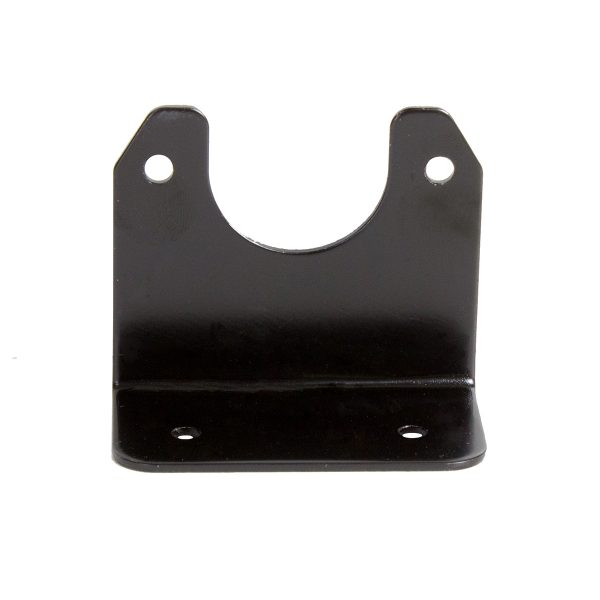 Angled Metal Bracket to suit Small Round Plastic Sockets