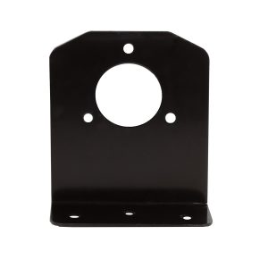 Angled Metal Bracket to suit Large Round Plastic Sockets