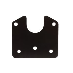 Flat Metal Bracket to suit Small Round Metal Sockets