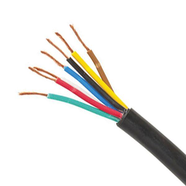 Trailer Cable Ordinary Duty, 7 Core, 16/.30 Stranding, 100M
