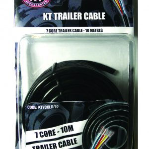 Trailer Cable Extra Light Duty, 2mm, 7 Core, 7/.30 Stranding, 30M