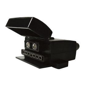 Socket, Female, 9 Pin, Flat, (7 Pin + 50Amp Connector)