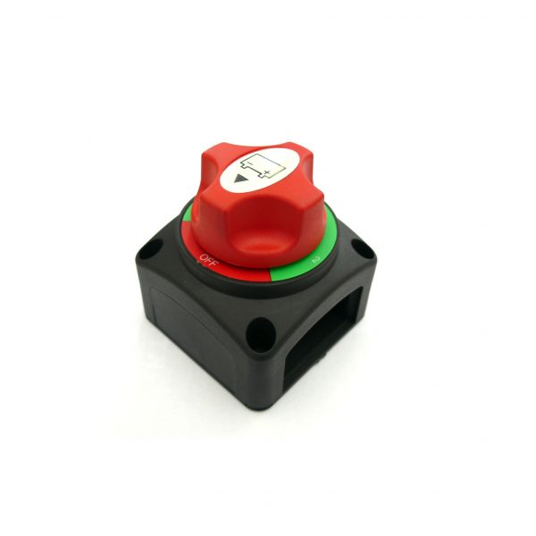 Dual Battery Master Switch, Mounted