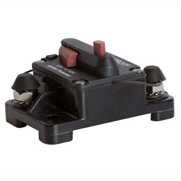 Circuit Breaker, 80Amp Manual Reset