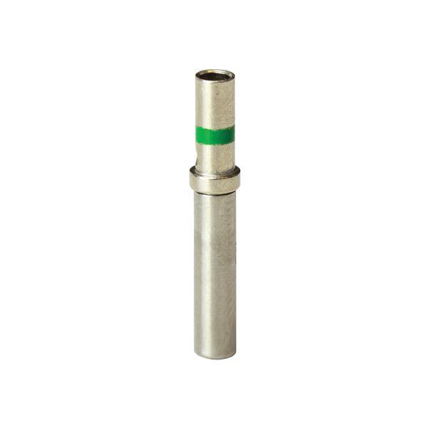DT Solid, Female Socket, Size 16, 13Amp, Green Band