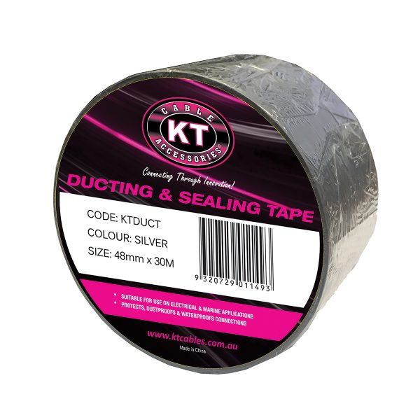 Ducting & Sealing Tape, Black, 48mm x 30M