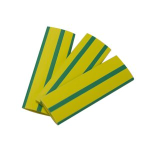 Heatshrink, 2mm, Green/Yellow, 1.2M