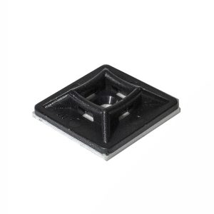 Adhesive Mounting Base, 19mm x 19mm, Pkt 20