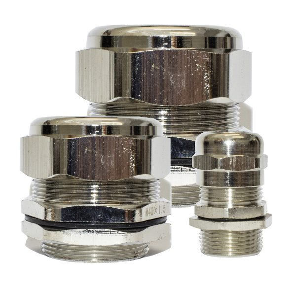 Metal Cable Gland, 25mm, (11mm, 17mm Cable)
