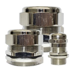 Metal Cable Gland, 16mm, (5mm, 10mm Cable)
