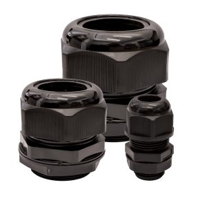 Nylon Cable Gland, 15mm - 22mm Cable Range