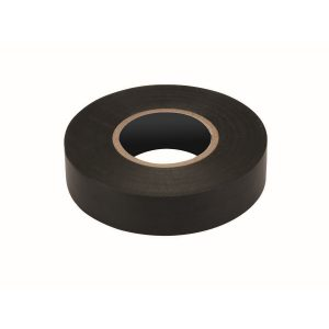 PVC Insulation Tape, Black, 19mm x 20M Roll