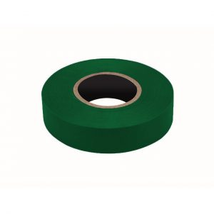 PVC Insulation Tape, Green, 19mm x 20M Roll