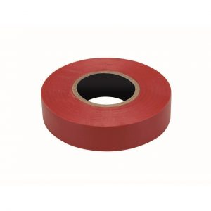 PVC Insulation Tape, Red, 19mm x 20M Roll
