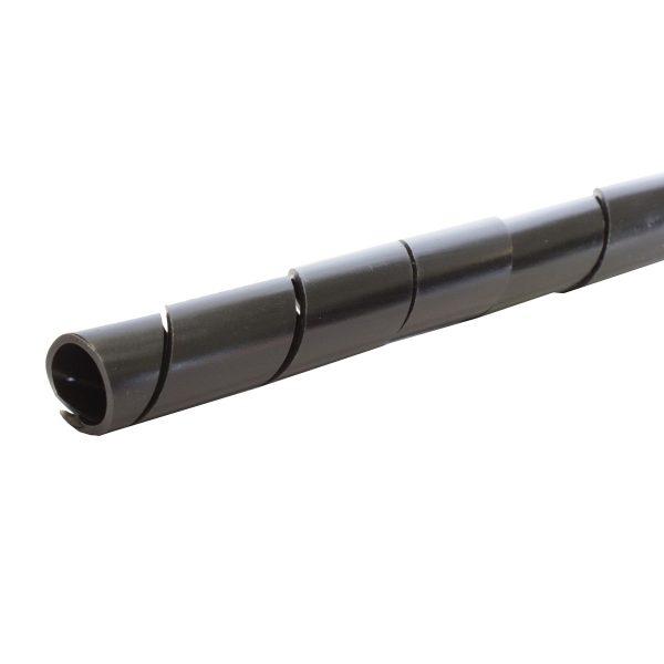 Spiral Wrap, Black, 12mm x 25M