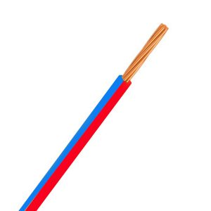 Automotive Single Core Cable, Red & Blue, 4mm, 23/.32 Stranding, 30M