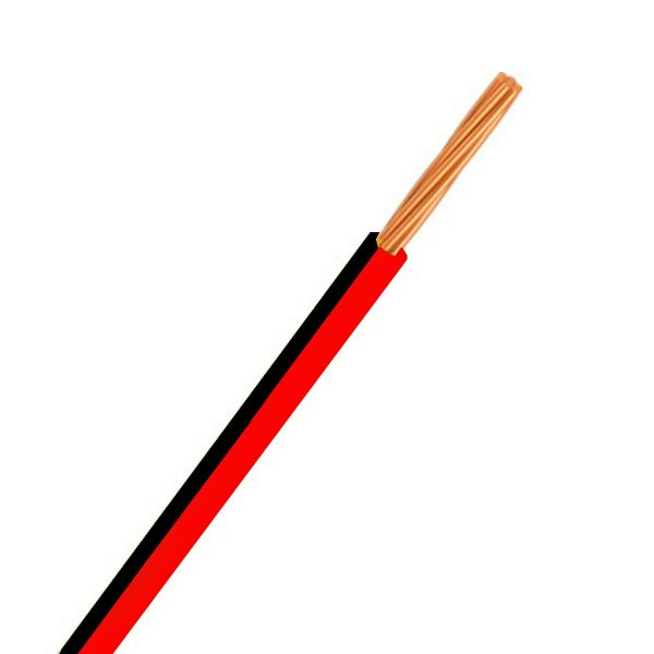 Automotive Single Core Cable, Red & Black, 4mm, 23/.32 Stranding, 100M