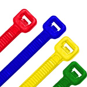 Cable Ties, Mixed Colour, 150mm x 3.6mm