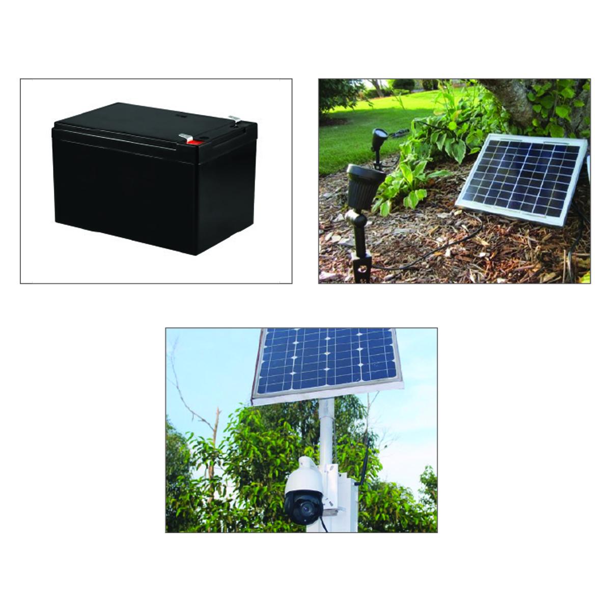100 Watt 12v Single Cell Mono Crystalline Solar Panel