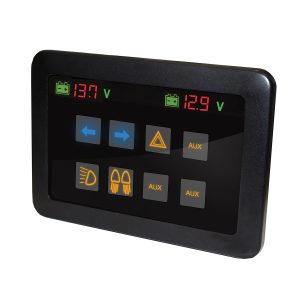 Commander Smart-Touch Switch Panel, 8 Way