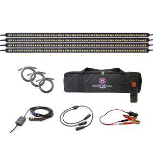 Dual Colour LED Camping Light Kit