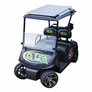 160 Watt, 36 to 48V Golf Cart & Electric Vehicle Solar Charging System