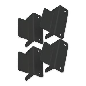 Solar Panel Mounting Bracket Kit, 4 Pieces, Aluminium Construction