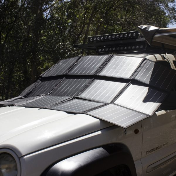 300 Watt, 12V Portable Solar Folding Blanket