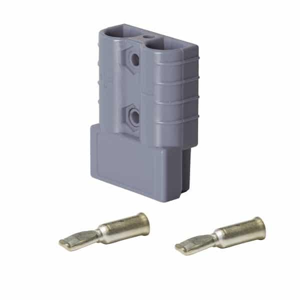 Heavy Duty Connector 50 Amp 10 Pack - Grey